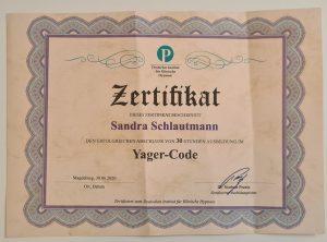 Wer kennt schon den Yager-Code?